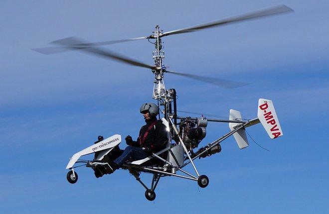 Начались летные испытания ультралегкого вертолета VA115