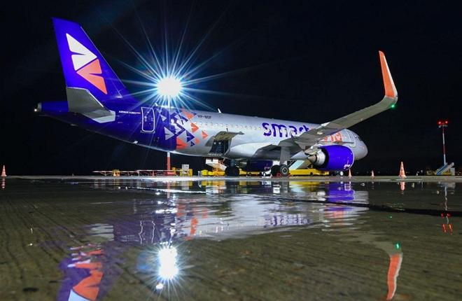 Airbus A320neo авиакомпании Smartavia