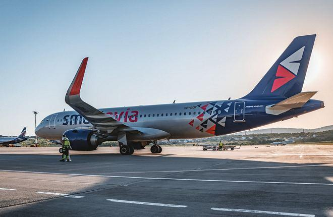Smartavia Airbus A320neo