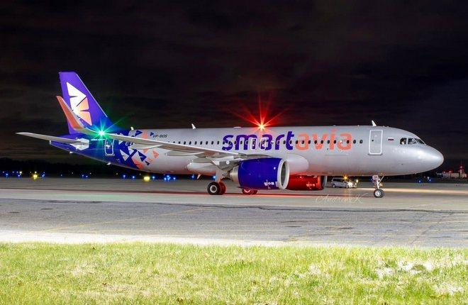 первый самолет Airbus A320neo авиакомпании Smartavia