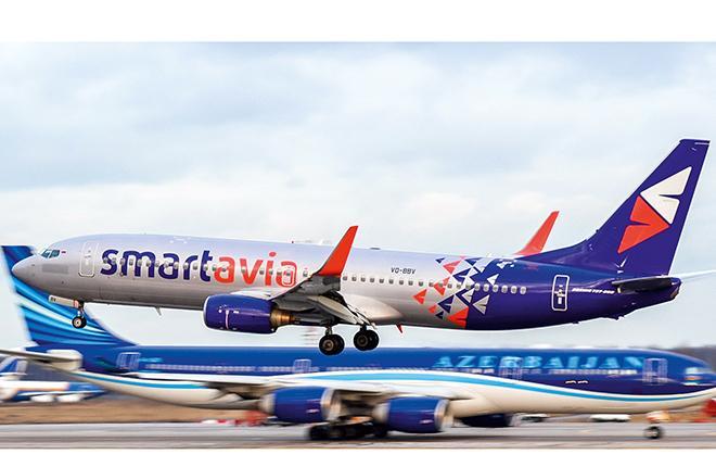 Smartavia Boeing 737NG