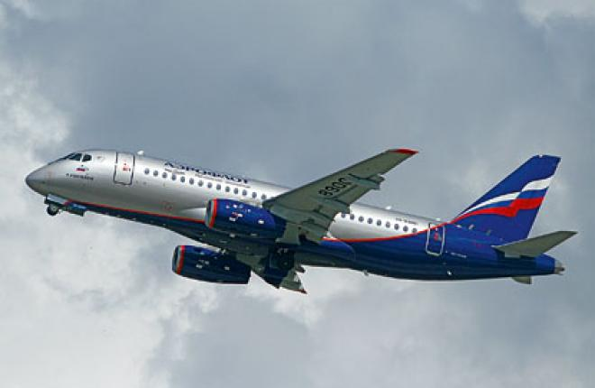 Aeroflot launched flights with the SSJ 100 in June / Sergei Sergeev