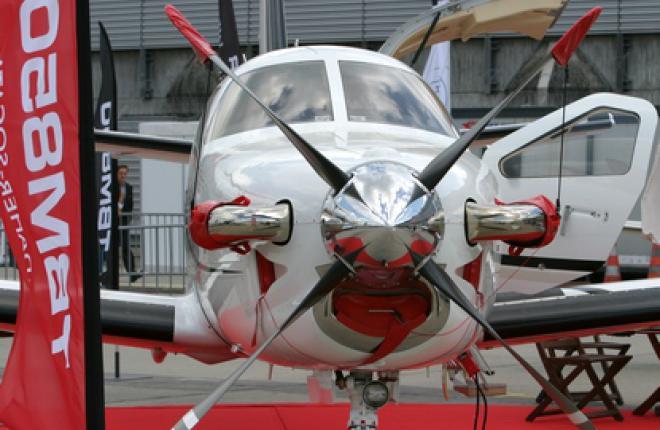 Самолет Daher-Socata TBM 850 сертифицирован в России и СНГ