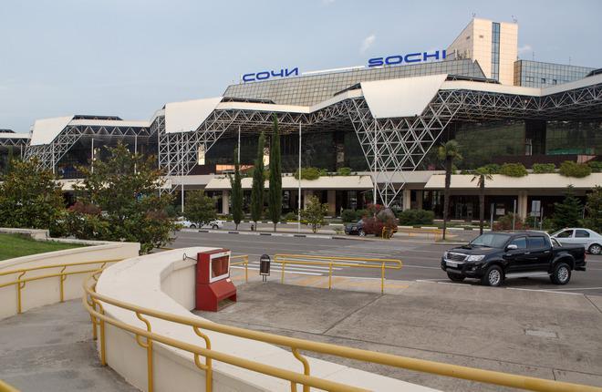 Терминал аэропорта Сочи