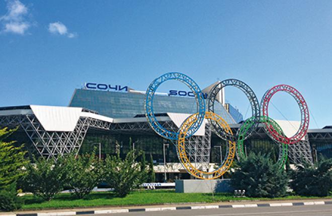 Sochi International Airport handled over 300 bizav flights during the Winter Olympics