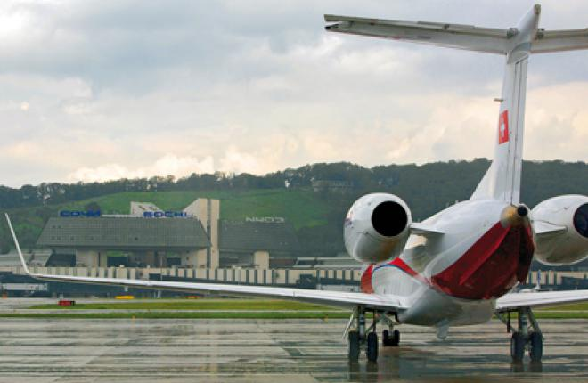 The 2013 Winter Olympics in Sochi stimulate growth of business aviation in Russia