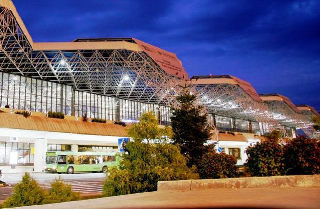Пассажирский терминал аэропорта Сочи