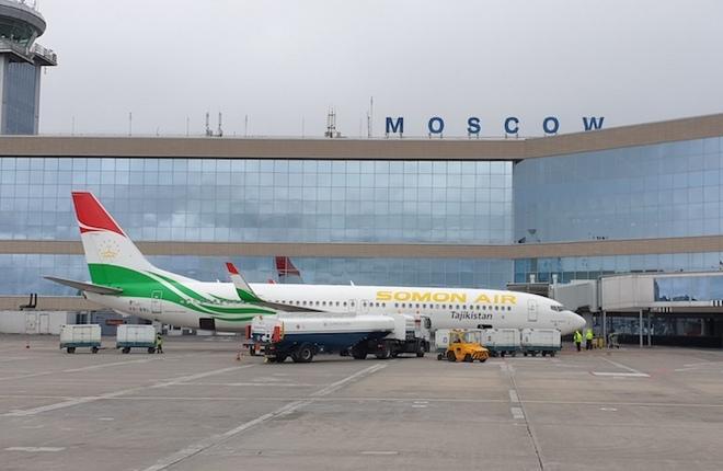 737 авиакомпании Somon Air