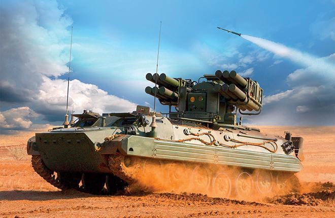 """На вооружении нового комплекса 12 зенитных управляемых ракет """"Сосна-Р"""" :: КБ точного машиностроения им. Нудельмана"""