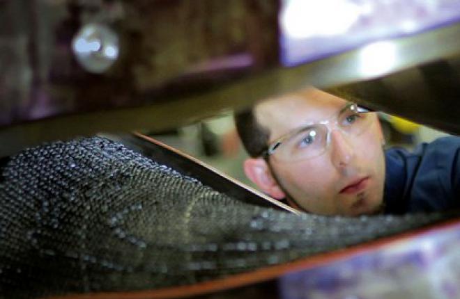 Snecma и  AEC создают новую технологию изготовления композитных лопаток