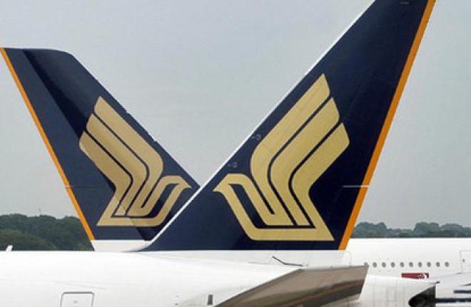 Чистая прибыль группы Singapore Airlines упала на 30%