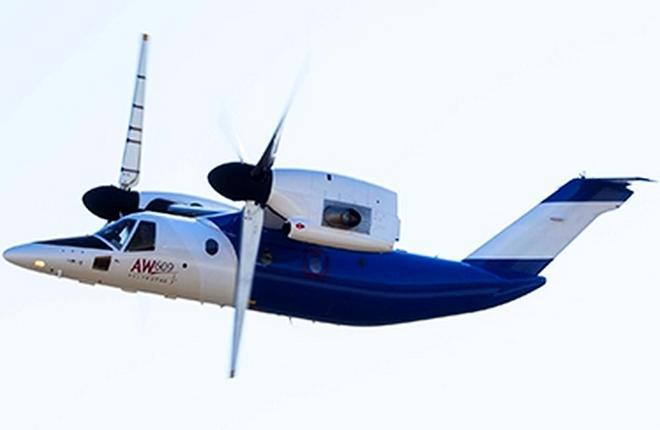 Конвертоплан Leonardo Helicopters AW609