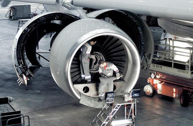 обслуживание двигателя SR Technics