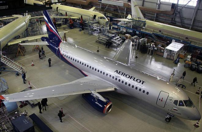 """Авиакомпания """"Аэрофлот"""" заказала еще 20 самолетов SSJ 100"""
