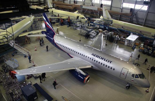 Сборка самолетов SSJ 100