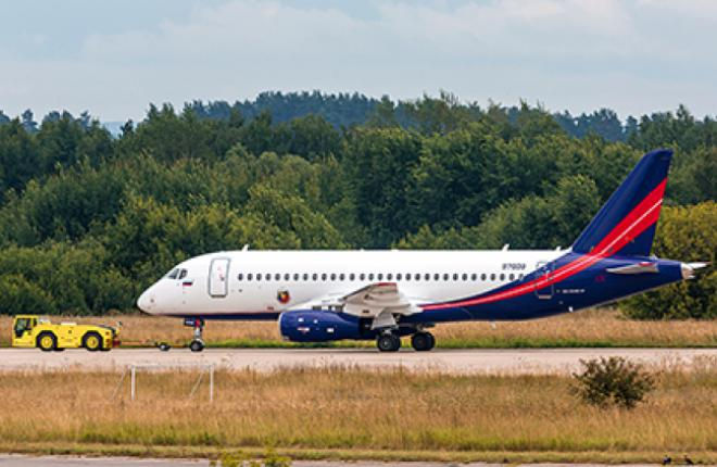 The first SSJ100 with VIP interior will be delivered to Rosoboronexport