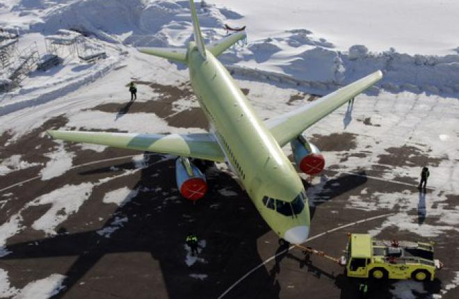 По итогам 2013 г. будет произведено 26 самолетов Sukhoi SuperJet 100