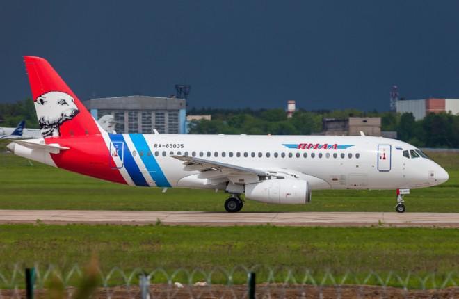 """Авиакомпания """"Ямал"""" получила еще два самолета SSJ 100"""
