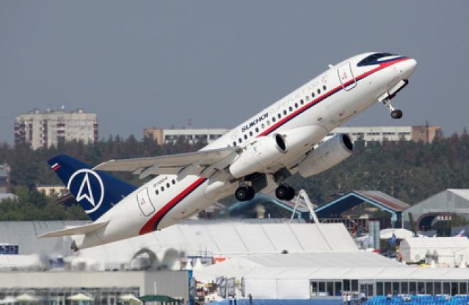 Самолет SSJ 100 собрал заказы