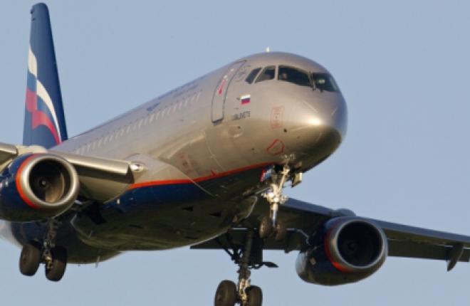 """""""Аэрофлот"""" получил третий самолет Sukhoi Superjet 100 full-версии"""