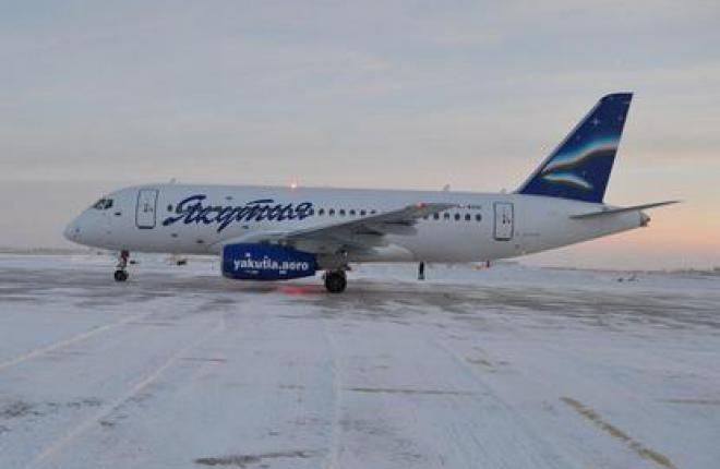 Самолет SSJ 100 может работать на севере