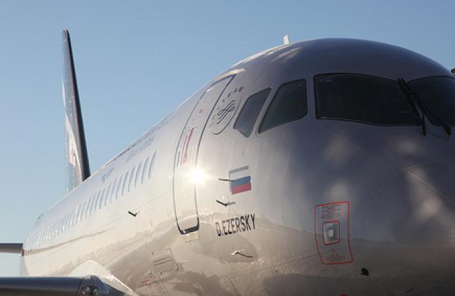 Очередной самолет Sukhoi Superjet 100 в расширенной комплектации для «Аэрофлота»