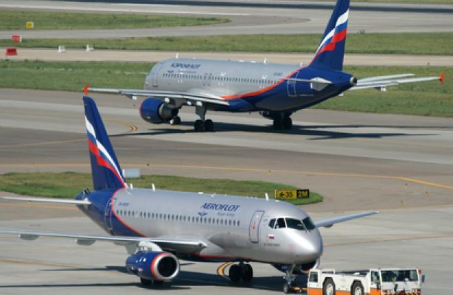"""""""Аэрофлот"""" ввел в эксплуатацию третий SSJ100"""