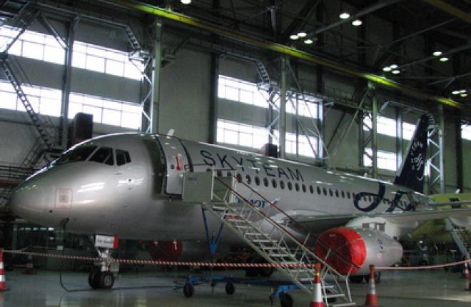 """""""Аэрофлот"""" получил шестой самолет SSJ 100"""