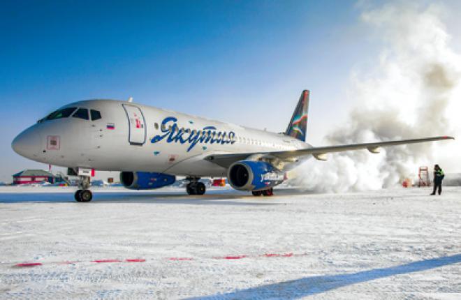 Из-за более суровых погодных условий результаты эксплуатации SSJ 100 в «Якутии»