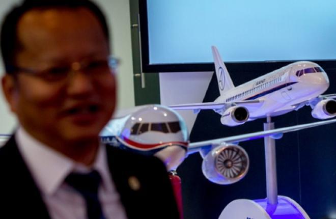 ОАК продаст в Китай до 100 самолетов Sukhoi Superjet 100