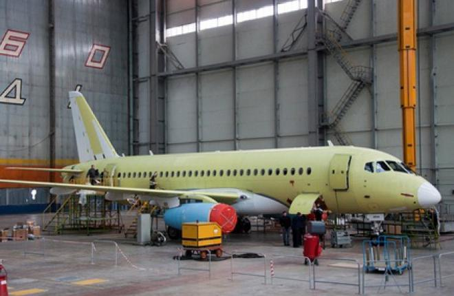 Таиланд заказал три самолета Sukhoi Superjet 100 в версии VIP