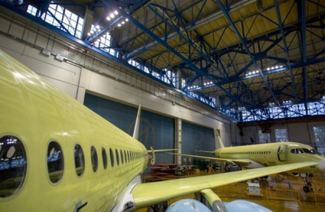 Слюсарь рассказал о темпах выпуска самолетов SSJ 100