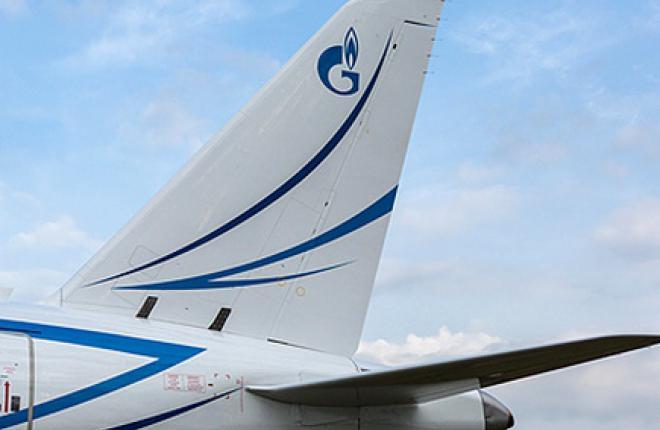 """Авиакомпания """"Газпромавиа"""" начала коммерческую эксплуатацию самолетов Sukhoi Sup"""