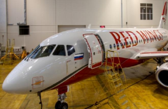 К концу 2016 г. авиакомпания Red Wings нарастит парк SSJ 100 до 10 машин