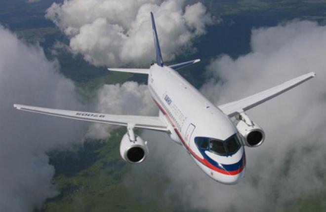 Самолету Sukhoi Superjet 100 (SSJ 100) разрешили летать с функцией вертикальной навигации VNAV