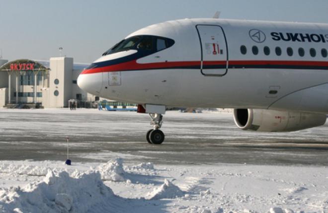 Самолет Sukhoi Superjet SSJ 100 может эксплуатироваться в арктических аэропортах