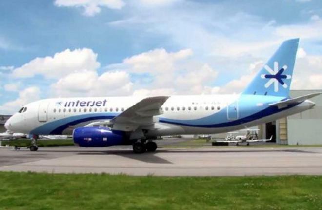 Interjet рекордно сократила разворотное время для самолетов SSJ 100