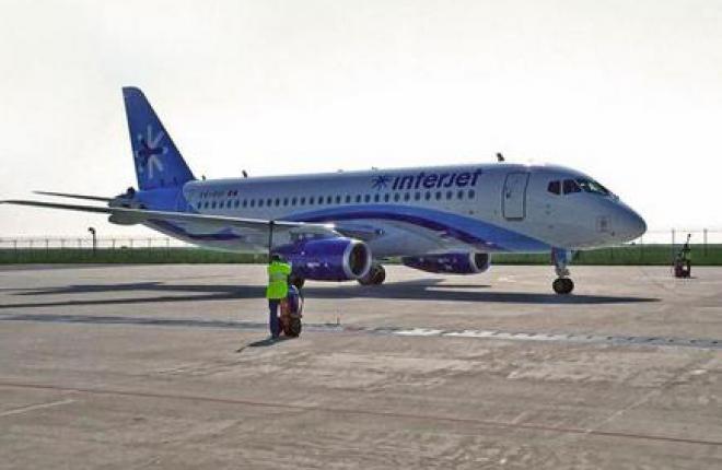 Мексиканская авиакомпания Interjet получила четырнадцатый SSJ 100