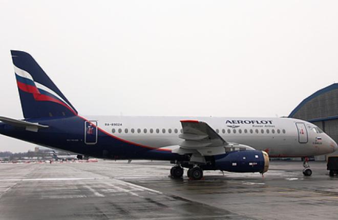 «Аэрофлот» ввел в эксплуатацию 11-ый самолет Sukhoi Superjet 100