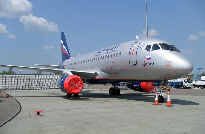 Superjet 100 Аэрофлот