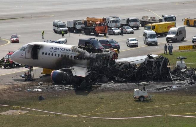 катастрофа самолета SSJ 100 в Шереметьево