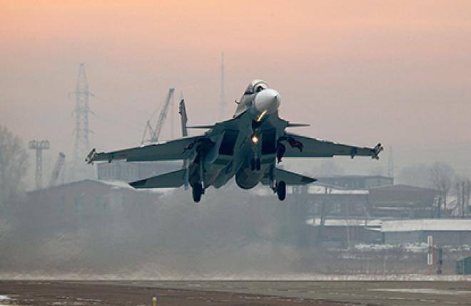 The first Su-30SM fighters were delivered to the Russian Air Force in November 2