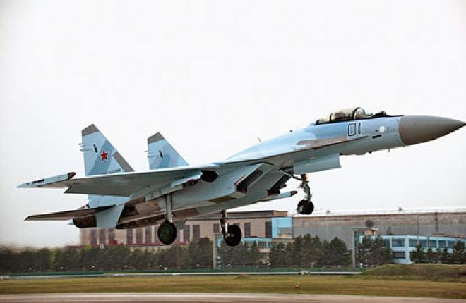 The Russian Air Force should get first Su-35S this year