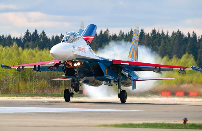 The Russian Knights may say goodbye to their Su-27 fighters before year-end