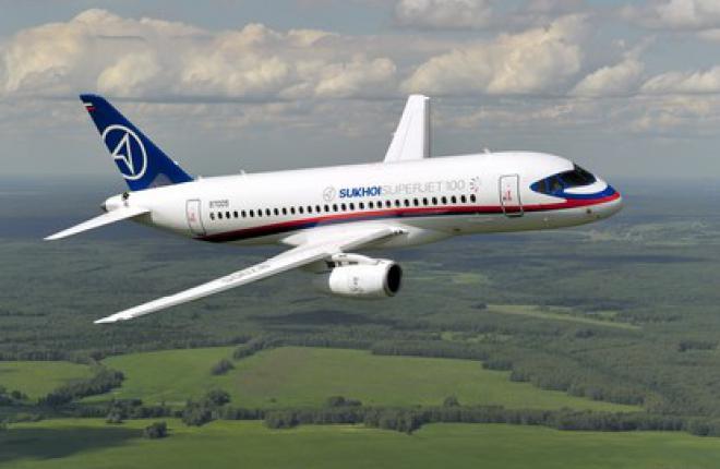 Экспортные поставки Sukhoi Superjet 100 начнутся во второй половине 2012 г.