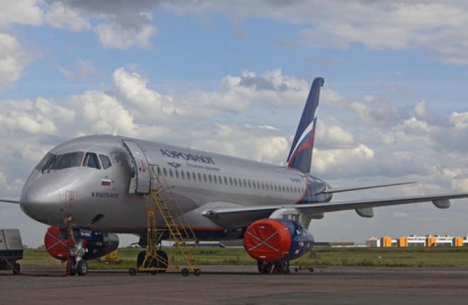 """""""Аэрофлот"""" отчитался об освоении самолета Sukhoi Superjet 100"""