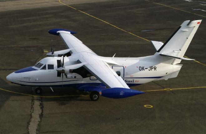 Азиатская авиакомпания Susi Air приобрела L-410UVP-E20