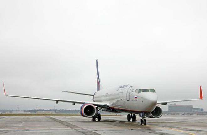 """""""Аэрофлот"""" получил очередной самолет Boeing 737-800"""
