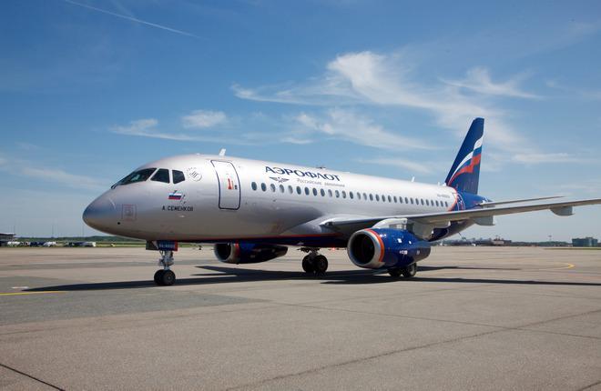 """Авиакомпания """"Аэрофлот"""" получила еще два самолета SSJ 100"""