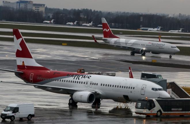 Авиакомпания NordWind перекрасит самолеты Airbus A321 в России
